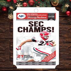 Ornament: SEC Champions Field Edition