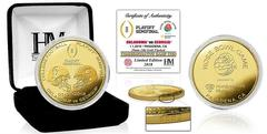 2018 CFP Rose Bowl Semifinal Gold Mint Coin