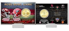 2018 Rose Bowl CFP Semifinal Bronze Coin Card