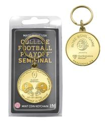2018 Rose Bowl CFP Semifinal Bronze Coin Keychain