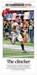 Poster: SEC Championship Sports Section Bonus Poster