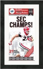 "Framed Poster: SEC Championship Field Edition (13"" x 22"")"