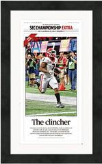 """Framed Poster: SEC Champions Bonus Poster (13"""" x 22"""")"""