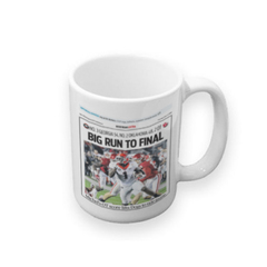 Coffee Mug: Rose Bowl Sports Section Front