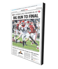 Wall Plaque: Rose Bowl Sports Section Front