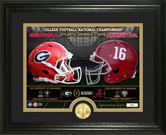 2018 College Football National Championship Game Bronze Coin Photomint