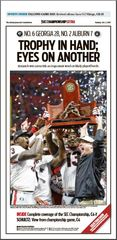 Poster: SEC Championship Sports Front