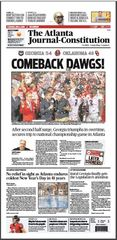 Poster: Rose Bowl Front Page